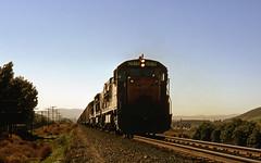 Late Afternoon Light on the LA&SL (GRNDMND) Tags: trains railroads unionpacific up lasl locomotive ge u30c walnut spadra pomona california
