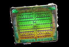 AMD@28nm@GCN_1st_gen@Tahiti@Radeon_HD_7950_GHz_Edition@1312_NCC858.00_512-0821065___Stack-DSC03822-DSC03886_-_ZS-retouched (FritzchensFritz) Tags: lenstagger macro makro supermacro supermakro focusstacking fokusstacking focus stacking fokus stackshot stackrail amd radeon hd 7970 tahiti gcn 1st gen 10 28nm gpu core heatspreader die shot gpupackage package processor prozessor gpudie dieshots dieshot waferdie wafer wafershot vintage open cracked