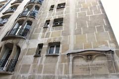 Paris - Ensemble immobilier de la rue Agar (corno.fulgur75) Tags: parís parigi parijs paryż paříž iledefrance france francia frança frankrijk frankreich frankrig frankrike francja francie february2016 architecture 16earrondissement auteuil artnouveau hectorguimard guimard