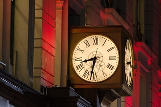 Herald Square clock