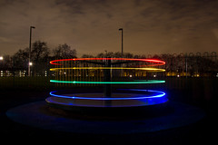 Magic Roundabout... (P1ay) Tags: magicroundabout roundabout roundaboutinparks roundaboutinlondon lightsatroundabout lightpainting light lightpaintinginlondon lighttrials lighttrails red blue yellow green redled blueled yellowled greenled parksinhackney hackneydownspark roundaboutslightpainting london p1ay colourlights colouredlights colorlights coloredlights explore explored flickrexplore lightinthesky inthebag inbag canon photography uk photographer wallpaper backgroundimage desktopwallpaper wallpaperbackground wallpapersbackgrounds stockimages