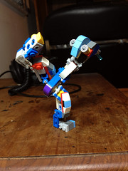 WIP Super-Poseable Modular Robot: The Little Guy (Alex Kelley) Tags: toy design robot lego action system modular figure android mecha mech moc
