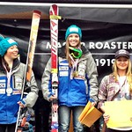 Overall Van Houtte Cup Top-3 Ladies - Stephanie Gartner 1st, Charley Field 2nd PHOTO CREDIT: Gregor Druzina