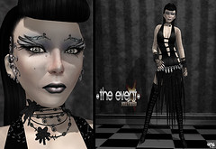 -The Event- Hollywood: Rfyre (Wicca Merlin) Tags: silkenmoon 3d 3dpeople art avatar blog blogger clothing couture darkfantasy fashion fashioninpixels fashionposes femaleclothing femalewear formal formalattire goth gothic hair highfashion inflictmtattoo jewelry loulou lovesoul madridsolo metavirtual model modelpose modelposes modeling modelingpose modelingposes new newrelease newreleases news photographer pose ravenpennyfeather rfyre secondlife sl slclothing slfashion slstyle style virtualworld wiccamerlin woman