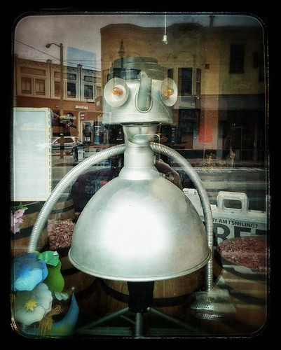 Robot in Window