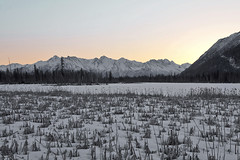 040413 - sunrise near the Knik (Nathan A) Tags: morning mountains alaska river landscape outdoors spring glenn palmer glacier valley peaks range knik chugach floodplain oldglenn