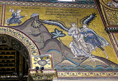 Mosaics of the Monreale Cathedral (Duomo) (DRUified) Tags: monreale sicily rebeccadruphotography jamicakes chefjamicakes judyzeidler duomo mosaics byzantine byzantinemosaics thecathedralofmonreale williamii madonnaandchild saintpeter saintpaul cosmatipavements inlaymarble walterofthemill christpantocrator greekcraftsmen byzantineinfluence getolympus olympuscamera iwanttobeanolympusvisionary olympusomd olympusem1 olympusem5 druified thesoulphotographer
