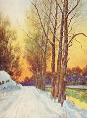A January Sunset (PorangiKui) Tags: winter vintageart calendarart