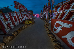 Boneyard 2 (James Neeley) Tags: nightphotography lightpainting lasvegas nevada boneyard lowlightphotography jamesneeley neonsignmuseum