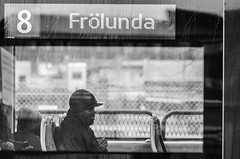 People on trams, volume 3. (Fredrik Sundqvist) Tags: city portrait people man men nikon europe sweden gothenburg tram transportation vehicle