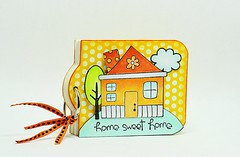 Mini Address Book (Elizabeth Allan's Art Studio) Tags: pennyblack sweethome addressbook pennyblackdt madisonpaper