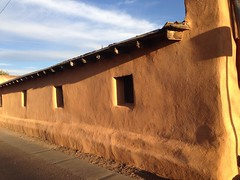 Afternoon light (miia hebert) Tags: newmexico albuquerque goldenhour adobewall uploaded:by=flickrmobile flickriosapp:filter=nofilter