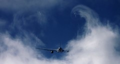 Aviation (hincasebastian) Tags: cloud sun holland netherlands amsterdam canon airport aircraft l schiphol 56 400mm 50d