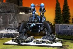 Dwarfs, Custom Machine of Thunder (Blue Table Painting) Tags: blue painting table 40k warhammer
