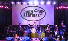 Australian Blues Brothers with Brass Section, Festival Stage