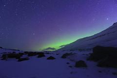 Nightscape [Explored 25.4.13] (bergurij) Tags: sky snow night lights star aurora johansen borealis bergur northernlight ingemarsson