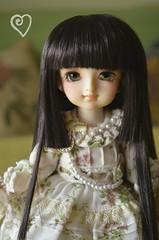 Zeralda's dress (Purple ♥ Enma) Tags: cute ball doll dolls dress yo super sd kawaii bjd resin dollfie vols jointed yosd zeralda megohime