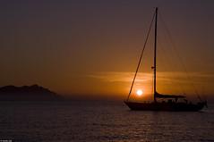 THE HORIZON INSIDE US / L'ORIZZONTE DENTRO DI NOI (Claudia Ioan) Tags: sunset sea italy nikon italia tramonto mare horizon sicily sicilia orizzonte sailingboat barcaavela isoleegadi egadiislands mygearandme blinkagain claudiaioan