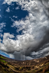 sunglasses or umbrella ? (dtsortanidis) Tags: sky sun nature rain weather clouds canon photography spring mark fisheye greece ii 5d dimitris 815mm tsortanidis dtsortanidis