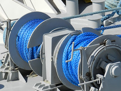 Blue Cable (Atelier Teee) Tags: blue cable royalcaribbean majestyoftheseas atelierteee terencefaircloth