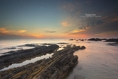 """Sunrise at Tanjung Jara"" (Nur Ismail Photography) Tags: sunrise terengganu dungun singleexposure leefilters tanjungjara sifoocom nurismailphotography nurismailmohammed nurismail leeglassenhancer"