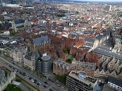High Above Antigoon - Antwerp (Wind Watcher) Tags: light kite belgium levitation delta antwerp kap antigoon windwatcher chdk wwkw2013
