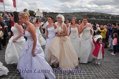 DSC_6473 (Salmix_ie) Tags: world charity bridge ireland ladies girls beauty river costume peace hospice guinness londonderry record april brides northern 20th derry peacebridge foyle 2013 faschion