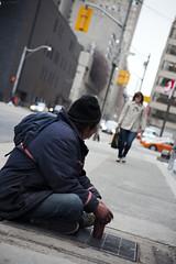 Street (sigma.) Tags: street people vent homeless sidewalk panhandler