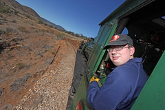 Keen cabrider (Wings and Wheels) Tags: railroad heritage train bush south volunteers rail railway australia historic steam ranges pichi outback locomotive cabride southaustralia flinders preservation steamtrain quorn richi flindersranges prr pichirichi pichirichirailway railwaypreservation
