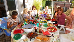 Table full of goodies! (Gabriele B) Tags: birthday home gabi dorothy susan gina debra celeste mimma