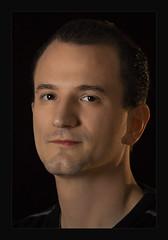 ♥ (Gret B.) Tags: portrait face gesicht porträt mann augen freund dunkel
