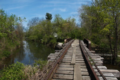 Lambertville, NJ ( estatik ) Tags: county new trestle bridge abandoned train canal day tracks nj jersey deleware delaware lambertville raritan hunterdon