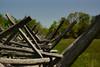 Split Rail Fence, Manassas National Battlefield Park (Stephen Little) Tags: beercan sooc straightoutofcamera minolta70210mmf4 minolta70210mm minoltaaf70210mmf4 minoltaaf70210mm sonya77 jstephenlittlejr slta77 sonyslta77 sonyslta77v