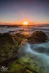 Kingscliff (Nolan White) Tags: ocean sunset sunrise rocks australia kingscliff