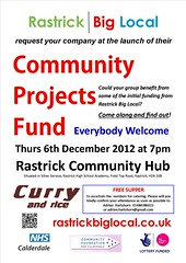 Rastrick community projects fund poster Dec 2012 (Big Local) Tags: poster flyer event invitation posters leaflet publicity invite flyers leaflets biglocal localtrust