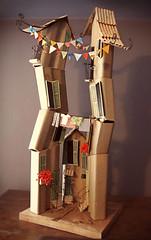 casa 2 (Monica Belandria) Tags: house handmade recycle reuse reciclaje hechoamano