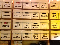 stockBoxes of Vintage Records (Lynn Friedman) Tags: sanfrancisco ca usa stock elvis artwalk bbking dianaross temptations jacksons gettyimages lowerhaight themiracles raycharles smokeyrobinson 94117 tinaturner threedognight lourawls jandean 2013 johnnyrivers iketina jerrybutler lynnfriedman lloydprice undisputedtruth acecannon jaytheamericans billblackcombo