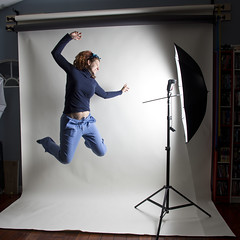 Day 2283 (evaxebra) Tags: umbrella studio jump flash belly 365 leap airborn wh scrubs 365days evaxebra ltlt