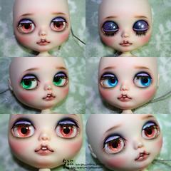 Blythe custom / faceup
