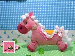 Animais da fazenda - Cavalinho (Ateli Lecanto) Tags: horse animals handmade farm patterns artesanato craft felt da mold feltro animais cavalo anim fazenda cavalinho handm moldes