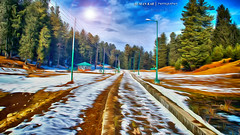 Fantasy 2 (Suman Kar) Tags: world road camera wood morning travel blue winter light sunset sky people cloud sun sunlight india white mountain snow black cold colour reflection tree green texture nature water beautiful beauty yellow glitter skyline sunrise way lens relax landscape photography leaf bush nikon scenery heaven paradise december mood ride bright time dusk infinity dune feel atmosphere calm divine illusion fantasy jungle shore valley sail oar kashmir srinagar nikkor effect hdr existence calmness bough serenety 2013 d5100