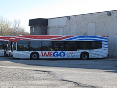 WEGO 5305 (TheTransitCamera) Tags: fun ride niagara falls system transportation shuttle visitor wego lfx novabus wego5305