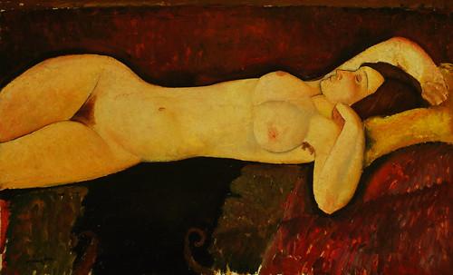 """Genealogía de las Soñantes, versiones de Lucas Cranach el Viejo (1534), Giorgione (1510), Tiziano Vecellio (1524), Nicolas Poussin (1625), Jean Auguste Ingres (1864), Amadeo Modigliani (1919), Pablo Picasso (1920), (1954), (1955), (1961). • <a style=""""font-size:0.8em;"""" href=""""http://www.flickr.com/photos/30735181@N00/8746829535/"""" target=""""_blank"""">View on Flickr</a>"""