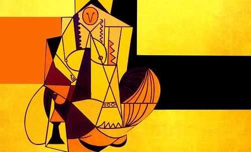 """Odaliscas (Mujeres de Argel) yuxtaposición y deconstrucción de Pablo Picasso (1955), síntesis de Roy Lichtenstein (1963). • <a style=""""font-size:0.8em;"""" href=""""http://www.flickr.com/photos/30735181@N00/8746884157/"""" target=""""_blank"""">View on Flickr</a>"""