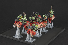 Night Goblin Squig Hoppers (revolution8) Tags: night fantasy goblin warhammer hoppers squig