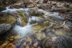 Mystify Me (MaugiArt) Tags: white water rock creek river grey movement smooth flowing liquid bouldercreek