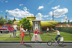 yellow submarine (lifeofrileyphotography) Tags: composite photoshop photo nikon photoshopcomposite