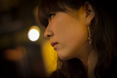 simply beautiful (eric_hevesy) Tags: china portrait woman beautiful 50mm profile chinese dalian