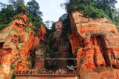 The Giant Buddha of Leshan (baddoguy) Tags: china travel tourism architecture giant religious ancient buddha buddhist religion great chinese culture buddhism landmark destination leshan sichuan grottoes worldheritage