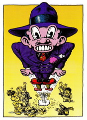 R. Crumb Trading Cards - Boingy Baxter (oerendhard1) Tags: art robert illustration comics underground cards comic drawing humor cartoon collection trading comix characters baxter crumb rcrumb stripverhaal undergroundcomics stripfiguur boingy oerendhard